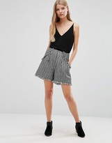 Sister Jane Satellite Shorts In Stripe