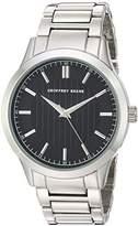 Geoffrey Beene Men's Quartz Metal and Alloy Dress Watch, Color:Silver-Toned (Model: GB8102SL)