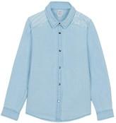 Little Karl Marc John Cardou Star Denim Shirt
