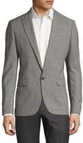 Sandro E15 Wool Peak Sportcoat