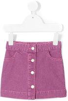 Knot - Earth Stripes skirt - kids - Cotton/Spandex/Elastane - 3 yrs