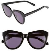 Karen Walker Women's 'Number One' 50Mm Sunglasses - Black