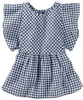 Osh Kosh Toddler Girl Gingham Flutter Top