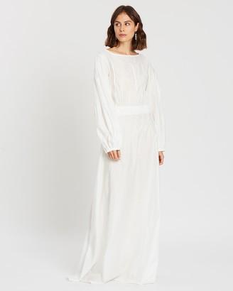 Matin Pintuck Dress