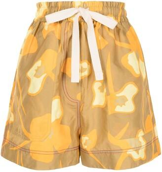 Lee Mathews Wren drawstring shorts