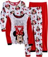 "Disney Disney's Minnie Mouse Girls 4-10 ""There's Only One Minnie"" 4-pc. Pajama Set"