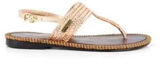 Les Tropéziennes Opper Leather Sandals