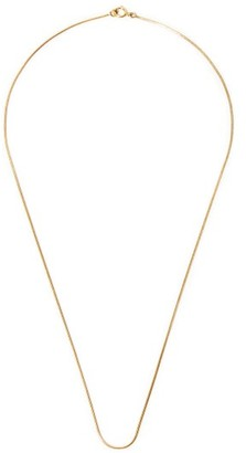 Fernando Jorge Thin 18kt Gold Snake-chain Necklace - Yellow Gold