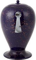 Fornasetti Cobalto Serratura Lidded Vase
