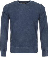 Nudie Jeans Sven Rugged Sweatshirt Blue