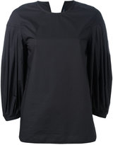 Sofie D'hoore pleated sleeves blouse - women - Cotton - 38