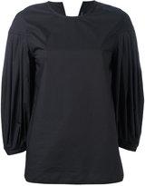 Sofie D'hoore pleated sleeves blouse