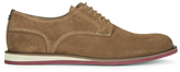 BOSS ORANGE Men's Volee Suede Derby Shoes Medium Beige