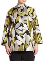 Caroline Rose A New Leaf Jacquard Jacket