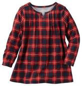 Osh Kosh Girl's Plaid Flannel Tunic
