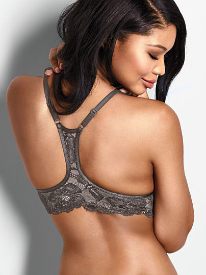 Victoria's Secret Front-close Racerback Demi Bra