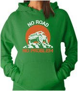 TeeStars - No Road No Problem 4X4 Funny Gift for Off Road Lovers Women Hoodie
