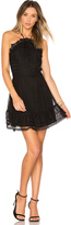 Karina Grimaldi Benjamin Lace Mini Dress