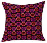 "DENY Designs Aimee St Hill Fall Floral Throw Pillow Orange (20"" x 20"