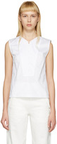 Lemaire White Twill Tank Top