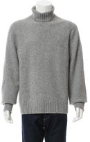 Marc Jacobs Rib Knit-Trimmed Turtleneck Sweater