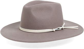 Noak Riley Wool Wide Brim Fedora