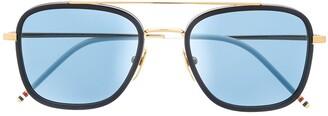 Thom Browne TB800 aviator sunglasses