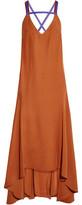 Roksanda Avalon Open-Back Asymmetric Crepe Dress