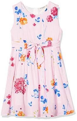 Salt&Pepper Salt & Pepper Girl's Mit Feinen Streifen Und Blumendruck Dress