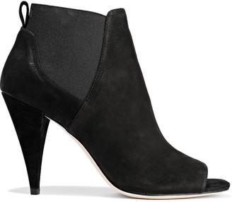 Halston Olivia Nubuck Ankle Boots