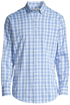 Peter Millar Twill Cotton Sports Shirt