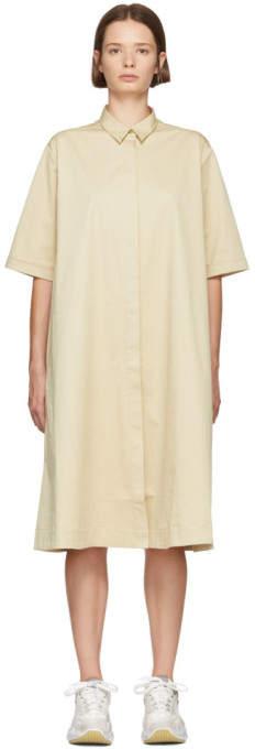 YMC Beige Joan Shirt Dress