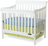 Child Craft Ashton Mini 4-in-1 Convertible 2 Piece Crib Set with Mattress