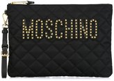 Moschino quilted clutch