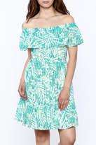 Sugar Lips Sugarlips Printed Selma Dress