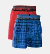 Under Armour Boys' UA Original Series Boxer Shorts 2-Pack