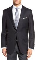Hickey Freeman Men's Beacon Classic B Fit Wool Blazer