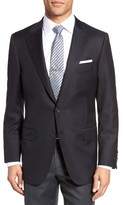 Hickey Freeman Men's Beacon Classic Fit Wool Blazer