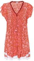 Poupette St Barth Mila floral-printed mini dress