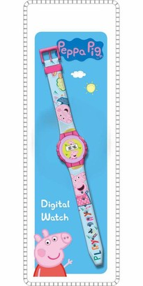 Peppa Pig KE02 (PP17006) Digital Wristwatch Multi-Coloured (Kids Licensing 1)
