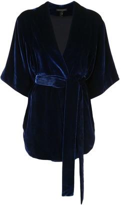 Kiki de Montparnasse Belted Wrap Jacket