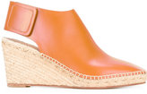 Celine wedge espadrilles - women - Calf Leather/Leather - 35