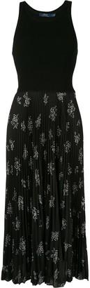 Polo Ralph Lauren Pleated Sleeveless Dress