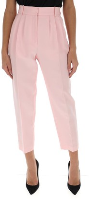 Alexander McQueen Classic Tapered Leg Trousers