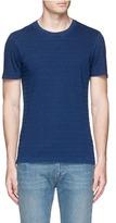 Denham Jeans 'Signature' stitch stripe T-shirt