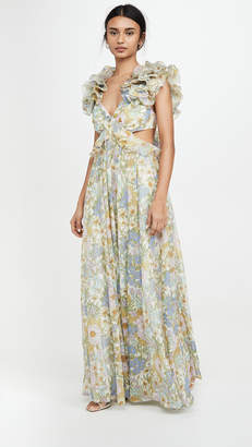 Zimmermann Super Eight Ruffle Gown