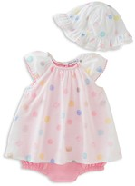 Absorba Girls' Dress, Bodysuit & Hat Set - Baby