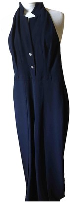 Temperley London Navy Viscose Jumpsuits