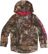 Carhartt Realtree Xtra® Camo Fleece Pullover Hoodie - Girls