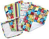 Trend Lab Dr. Seuss Alphabet Seuss Pouch & Burp Cloth Set